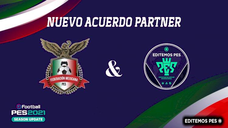 Anuncio del Nuevo Partner Global | Federación Mexicana de PES