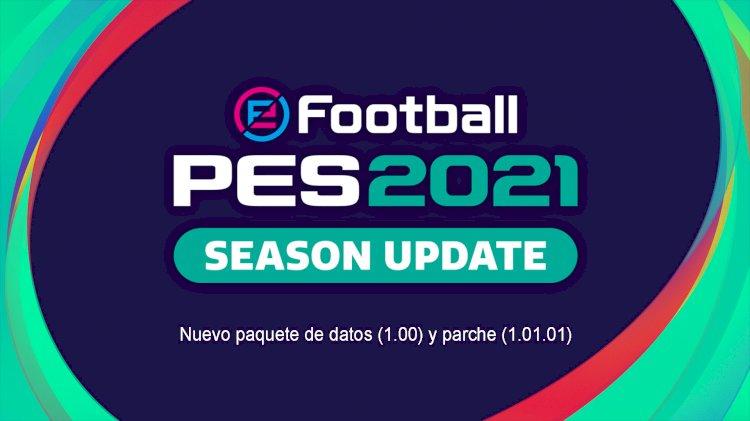 eFootball PES 2021 | Nuevo paquete de datos (1.00) y parche (1.01.01)