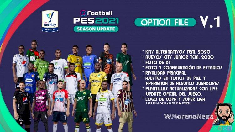 eFootball PES 2021 | Ya Disponible el OF de la Liga Colombiana