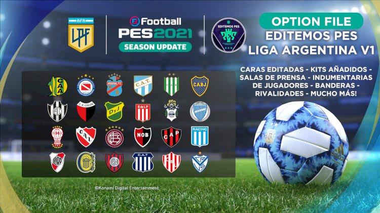 eFootball PES 2021 | Ya Disponible el OF de la Liga Argentina
