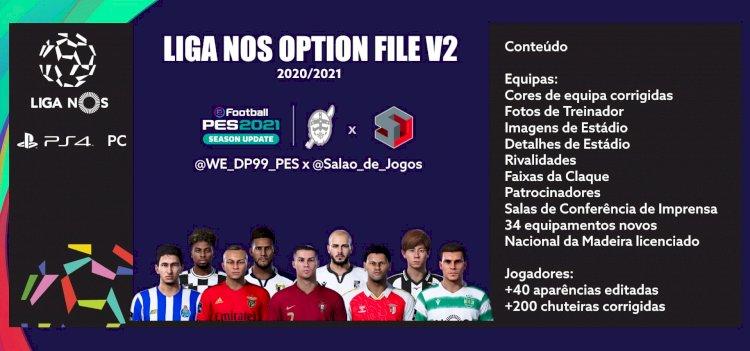 eFootball PES 2021 | Ya disponible el OF de la LIGA NOS V2