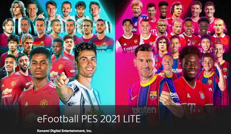Ya Disponible eFootball PES 2021 LITE para PS4, STEAM y XBOX