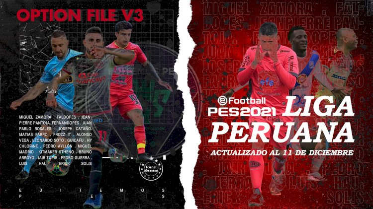 eFootball PES 2021   Ya Disponible el OF V3 de la Liga Peruana