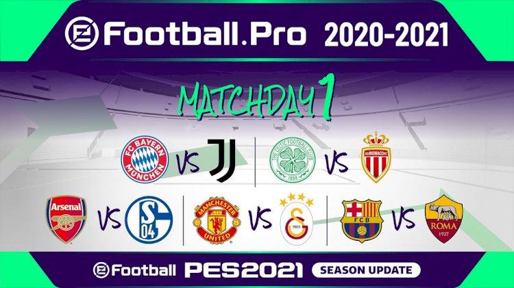 EN VIVO con la 1ª ronda de la nueva temporada de #eFootballPro