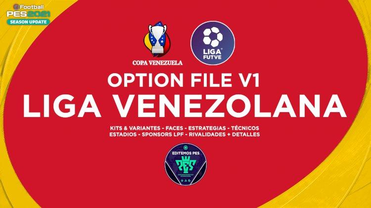 eFootball PES 2021 | Ya Disponible el OF de la Liga Venezolana