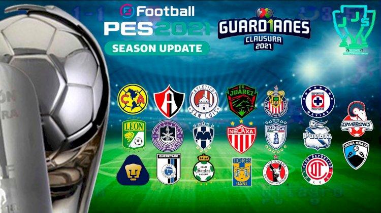 eFootball PES 2021 | Ya Disponible el OF de la Liga Mexicana