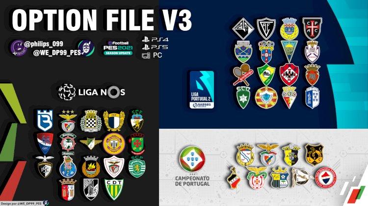 eFootball PES 2021 | Já disponível o OF Liga NOS V3 + Liga Portugal 2