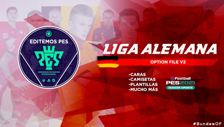 eFootball PES 2021 | Ya Disponible el OF v2 de la Liga Alemana