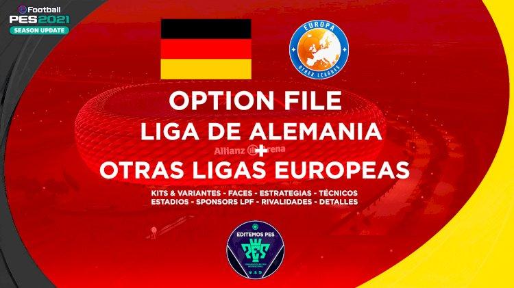 eFootball PES 2021 - Ya Disponible el OF de la Liga Alemana + Otros Europeos