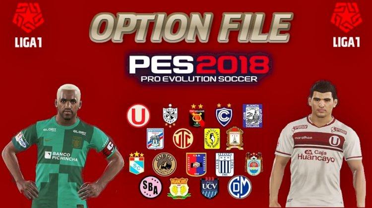 PES2018 - Ya Disponible el OF de la Liga 1 Betsson