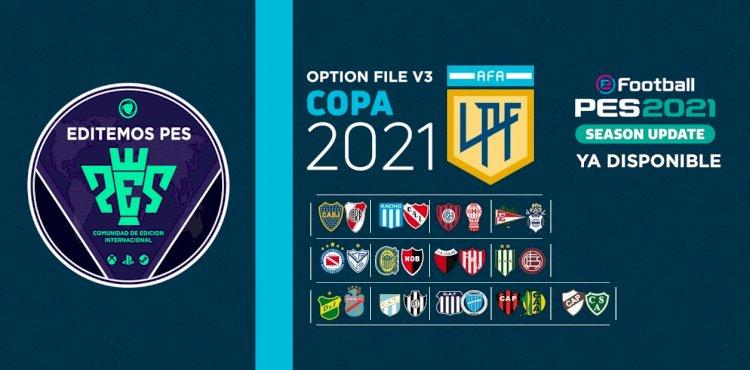 eFootball PES 2021 | Ya Disponible el OF V3 de la Liga Argentina