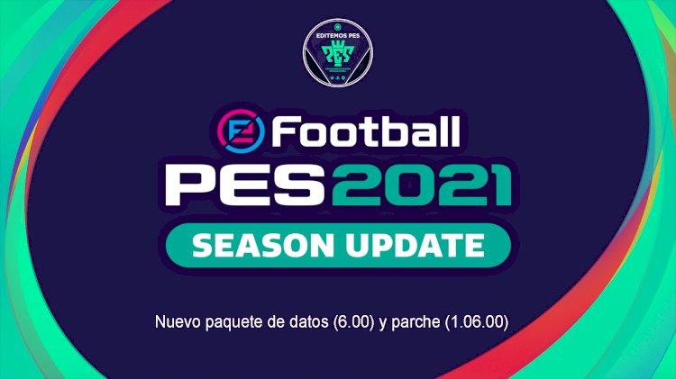 eFootball PES 2021 | Ya Disponible el DLC 6.0 y Parche 1.06.00