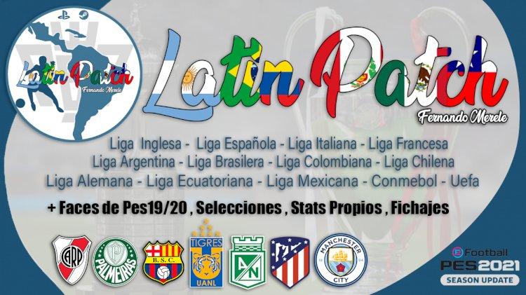 eFootball PES 2021 | LatinPatch21 Temporada 21/22