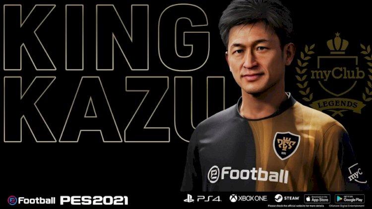 Konami firma un nuevo acuerdo de asociación con Kazuyoshi Miura