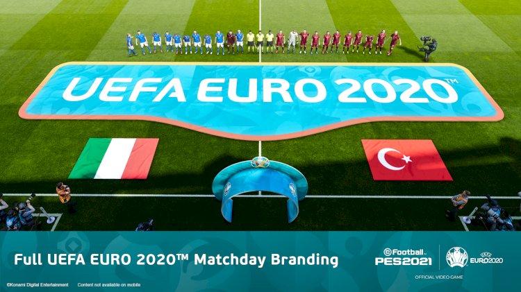 eFootball PES 2021 | UEFA EURO 2020™ Campaign