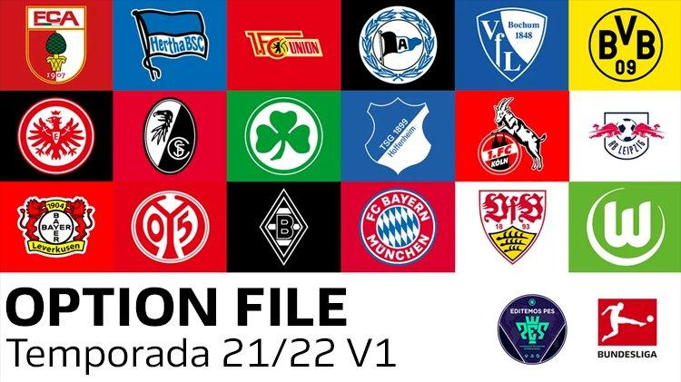 [NUEVO] Option File Bundesliga 2021/2022    eFootball PES 2021