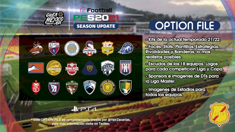 [NUEVO] Liga BBVA Expansión MX (2da división) [GRATIS] | eFootball PES 2021
